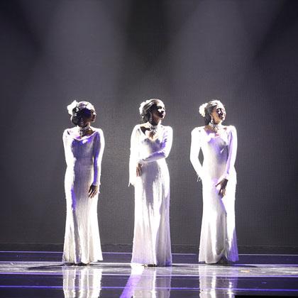 Dreamgirls Image 1 – Photo credits: ©Tsuyoshi Toya Courtesy of Tokyo Broadcasting System Television, Inc.