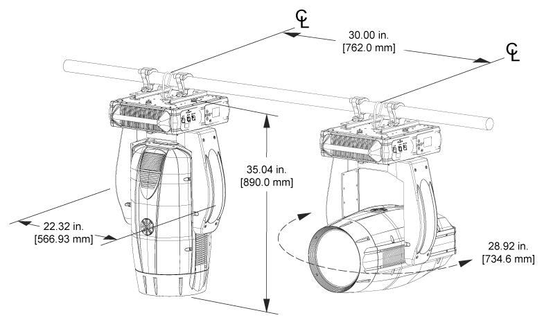 VL4000 BEAMWASH   Vari-Lite