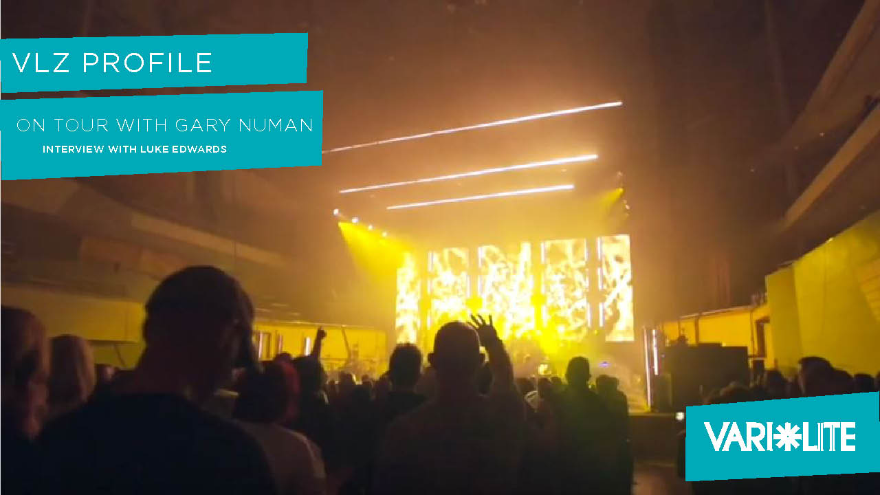 VLZ Profile on Tour with Gary Numan