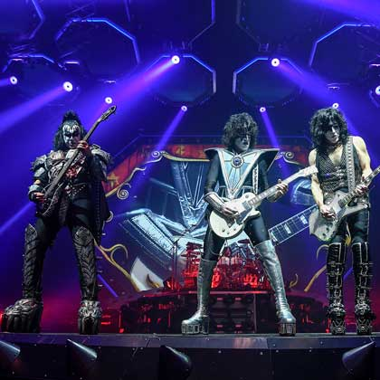 KISS – Photo credits: © Steve Jennings
